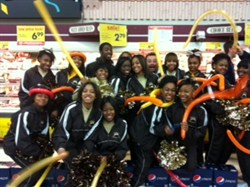 Brush Cheerleaders Featured at Fox 8 Turkey Bowl