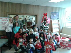 Help Sunview Elementary School to Stuff Stockings for U.S. Soldiers