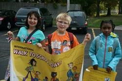 Sunview Celebrates International Walk to School Day