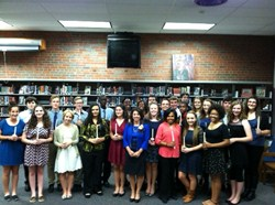 Brush Inducts 27 New Members into National Honor Society