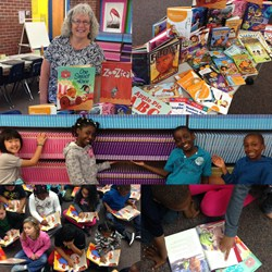 Adrian Students Receive 4,622 Brand New Books of Their Own to Keep: A Thank You Note from Cathy Stang, Learning Resource Teacher at Adrian