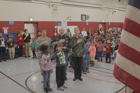 Rowland Elementary School Honors Its Own and All Veterans with Special Guest Speaker