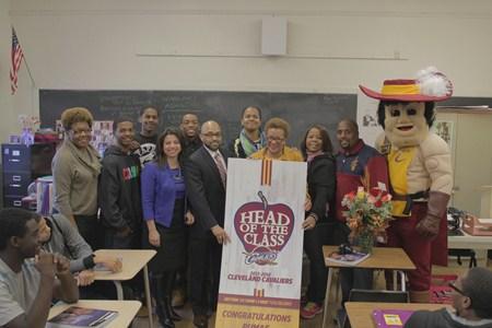 Brush High School Teacher Named Cleveland Cavaliers' Head of the Class Winner