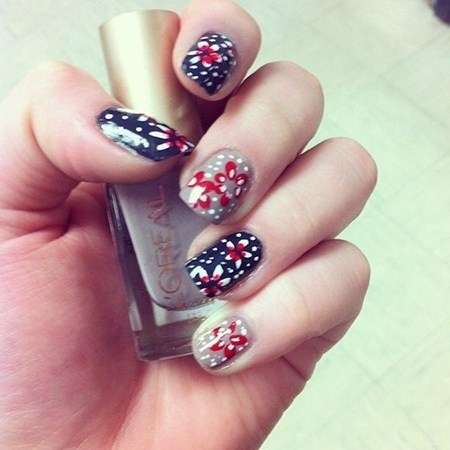 Brush Cosmetology Student Has Nails Selected and Featured Twice this Week on Yahoo Shine