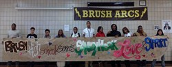 Brush High School Students Send Their Support and Love to Sandy Hook Elementary School