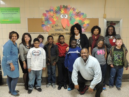 Greenview Upper Elementary School Celebrates Thanksgiving