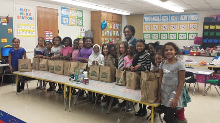 Adrian Rubies Student-Based Group Collects Donated Items and Provides to the Needy