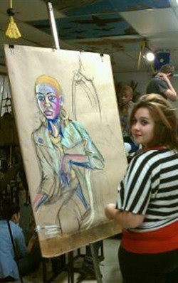 Brush High School Art Students Collaborate with Local High Schools