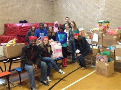 Student Congress Completes Rewarding Holiday Family Drive