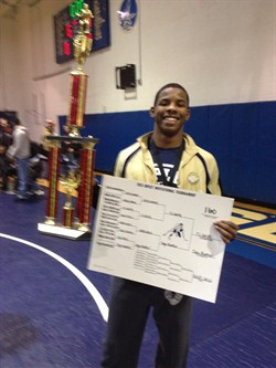 Brush Student Named Most Outstanding Wrestler at Ripley Invitational Tournament