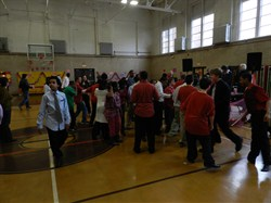 Brush High School Hosts Dance for Students with Special Needs