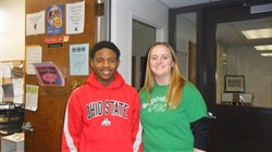 Memorial 8th Grade Student Albert Green III Ohio Lottery's Student of the Month