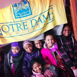 Adrian Scholars and Rubies Visit Notre Dame College