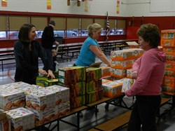 Members of Local Church Provide Special Spring Break Treat for Rowland and Adrian Students