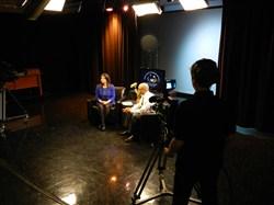 Superintendent Reid and Brush Principal Kenya Harrington Share a Conversation On Camera