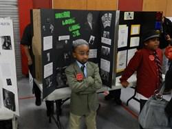 Rowland Elementary School Students Showcase Living Wax Museum