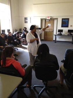 Judge Williams-Byers Visits ArcTech Students