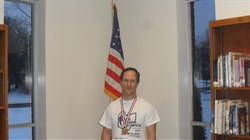 Memorial Math Teacher David DeWitt Medalist for National Senior Olympics