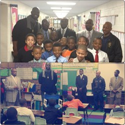 Adrian Students Receive Special Visit from Members of Historic Fraternity