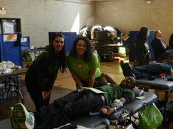 Student Leadership Helps Make Brush HS Blood Drive a Success