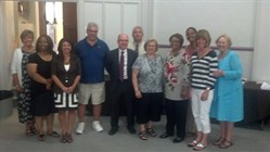 SEL Honors Retirees at June Board of Education Meeting