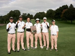 Boys Golf Team Wins NOC Championship: First One in 20 Years!!!