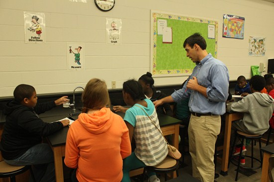 Memorial Students Experience Learning in New Science Classrooms