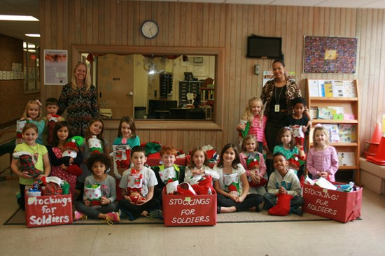 Sunview Stuffs Stockings for Soldiers for Fifth Straight Year