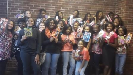 Memorial Students and Staff Support Toys for Tots Campaign