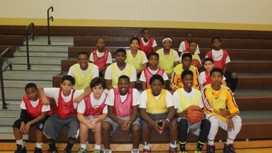 Memorial PBIS Event Features Students VS Staff Basketball Game
