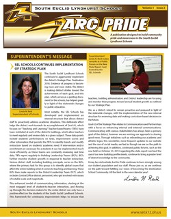Upcoming Arc Pride Newsletter Hitting Mail Boxes Soon!