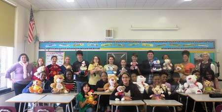 Memorial's NJHS Visits Rainbow Babies and Children's Hospital