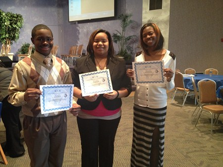 Brush Students Win Top Three Spots at Regional MLK Oratorical Competition