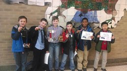 Greenview's 5th Grade Team Finishes 1st at the City Wide Equations Math Competition