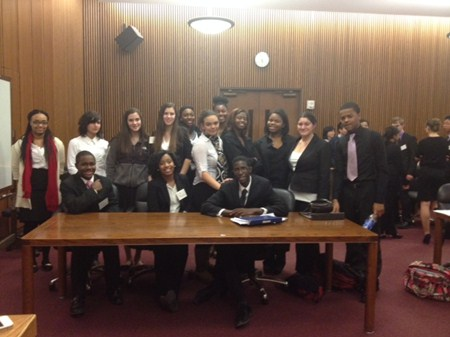 Brush Mock Trial Team Showing Signs of Improvement throughout Competition Season