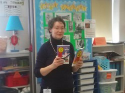 Sunview Third Graders Treated to Real Life Author's Visit to School