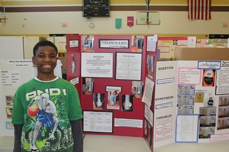 Memorial Junior High Hosts First Annual Science Fair