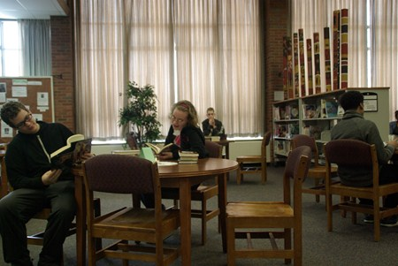 "Brush Library Hosts ""Speed Dating with Books"""