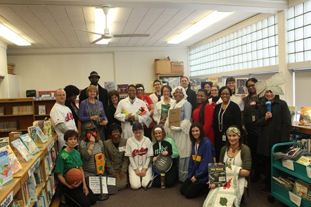 Rowland Staff Celebrate African-American History in Creative Fashion
