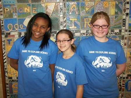 Three Greenview Students Attend Workshop at Natural History Museum