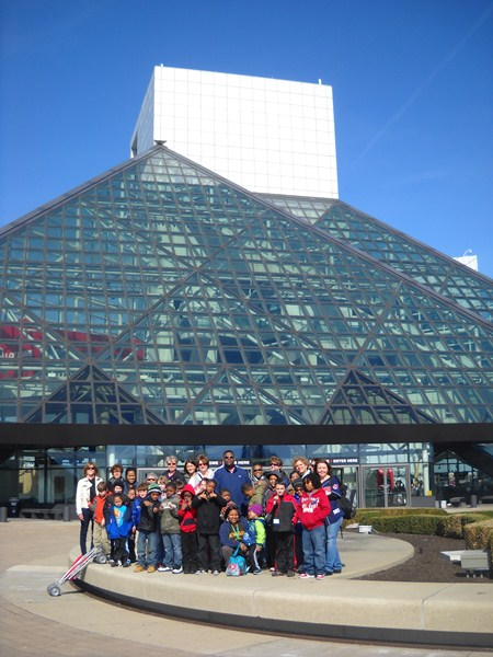 Rowland and Sunview Students Visit Rock and Roll Hall of Fame