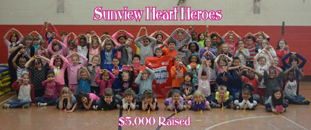 Sunview Has Heart!