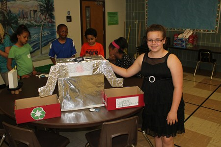 5th Graders Display Creativity at Science Invention Convention