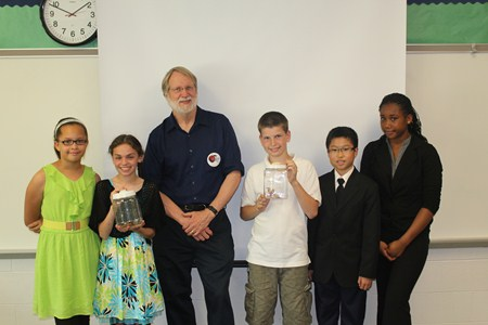 5th Graders Receive Special Visit from CWRU Professor