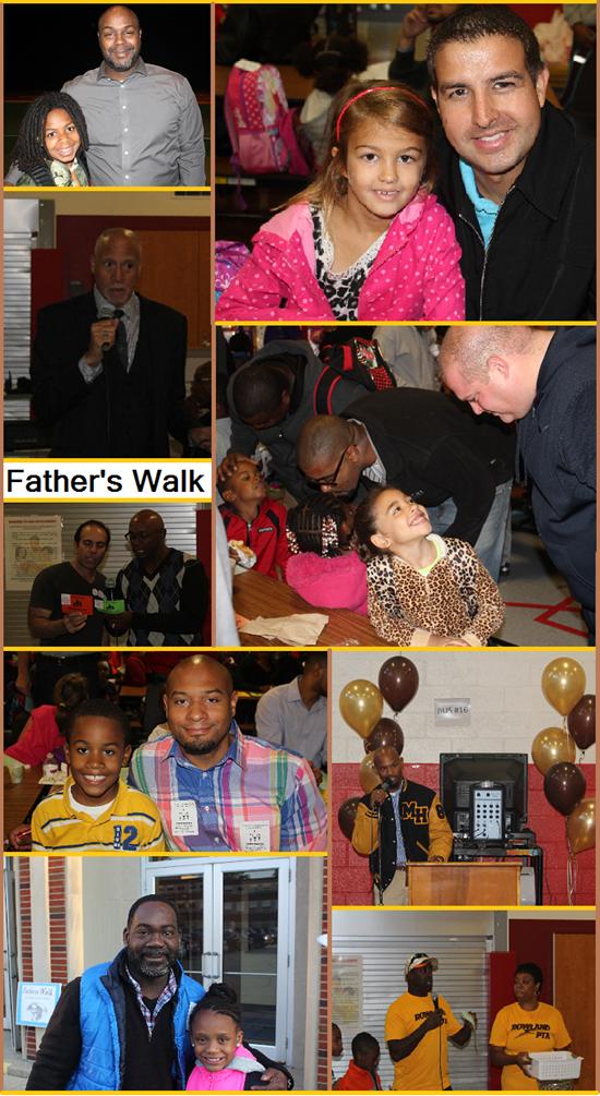 SEL Schools Participate in 2014 Father's Walk