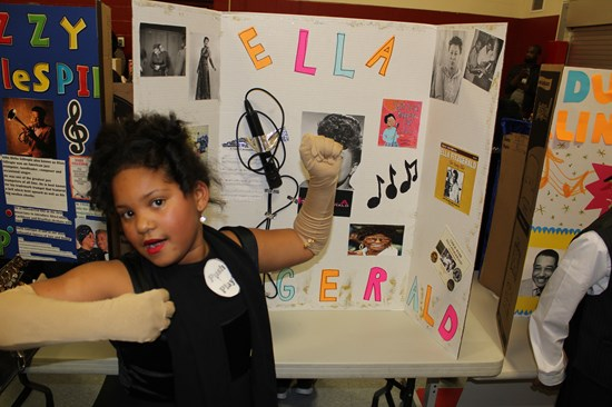 Rowland Students Bring African-American History to Life with Living Wax Museum