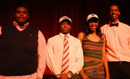 Brush High Athletes Sign National Letters of Intent