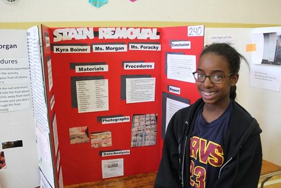 Memorial Hosts Second Annual Science Fair