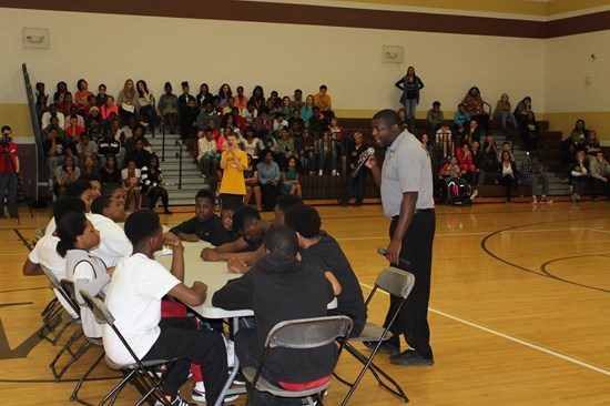Judge Gayle Williams-Byers Leads Anti-Bullying Assembly at Memorial