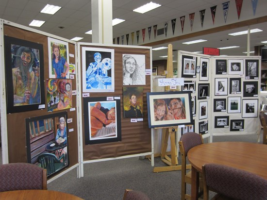 Brush Hosts Senior Art Show